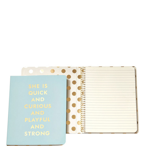 Quick and Curious Concealed Spiral Notebook, ${color}