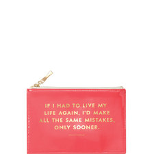 Same Mistakes Pencil Pouch