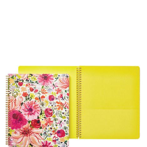 Dahlia Spiral Notebook Large, ${color}