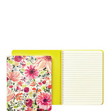Dahlia Concealed Spiral Notebook