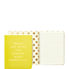 Limoncello Concealed Spiral Notebook