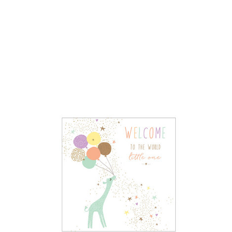 Welcome Little One Card, ${color}