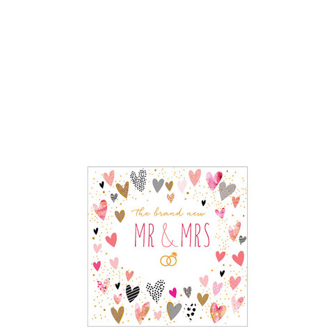 The Brand New Mr & Mrs Card, ${color}