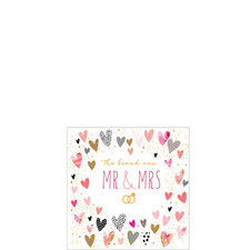 The Brand New Mr & Mrs Card