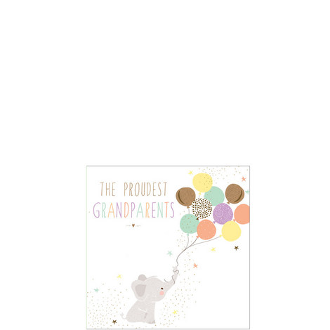 Proud Grandparents Card, ${color}