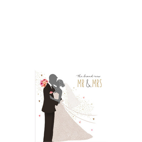 Brand New Mr and Mrs Card, ${color}