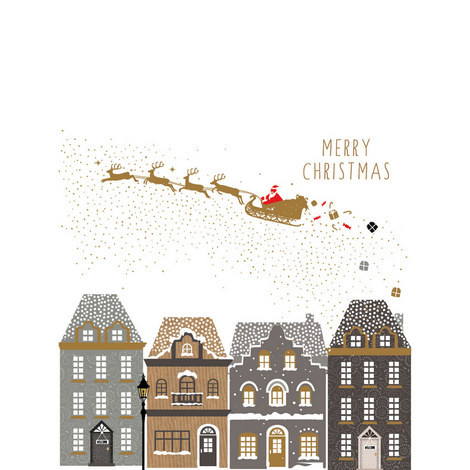 Night Before Christmas Card, ${color}