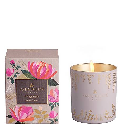 Jasmine, Lemongrass and Ginger Candle 240g, ${color}