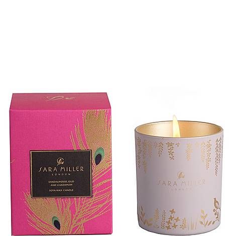 Sandalwood, Oud and Cardamom Candle 240g, ${color}