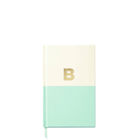 Dipped Initial B Notebook, ${color}