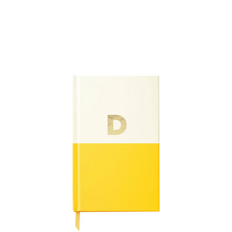 Dipped Initial D Notebook, ${color}