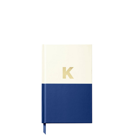 Dipped Initial K Notebook, ${color}