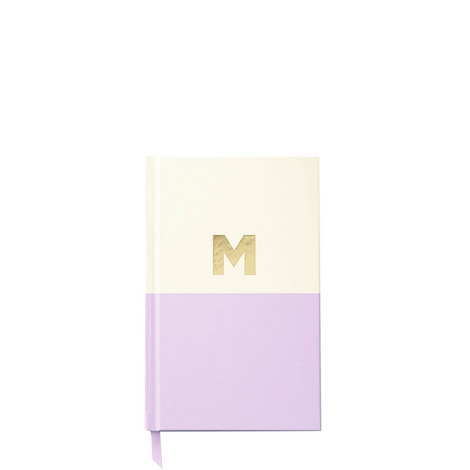 Dipped Initial M Notebook, ${color}