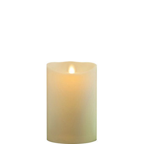 "Classic Wax Finish Pillar Candles 5"""", ${color}"