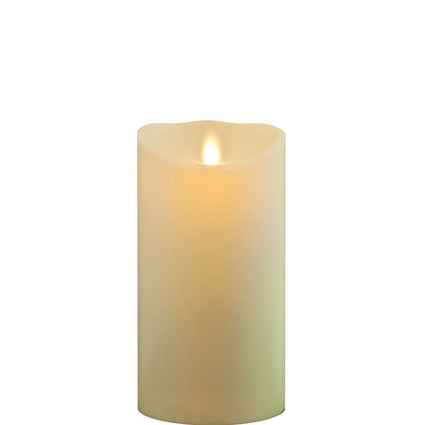 "Classic Wax Finish Pillar Candles 7"""", ${color}"