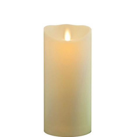 "Classic Wax Finish Pillar Candles 9"""", ${color}"