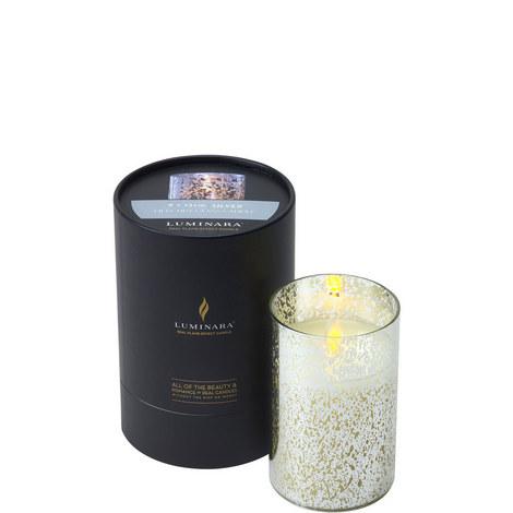 Mercury Glass Candle H12.5cm, ${color}