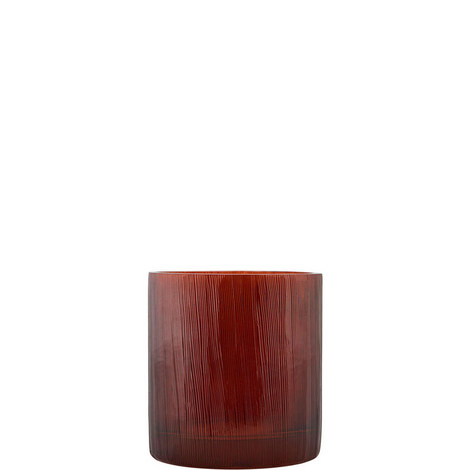 Ribbed Tealight Holder 8cm, ${color}