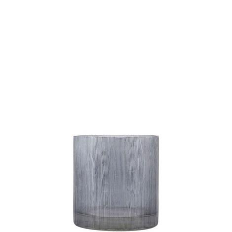Ribbed Tealight Holder 8cm, ${color}