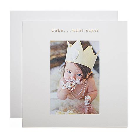 What Cake Birthday Card, ${color}
