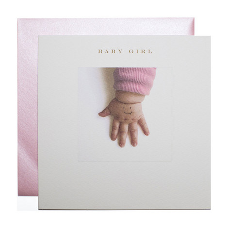 Baby Girl Card, ${color}