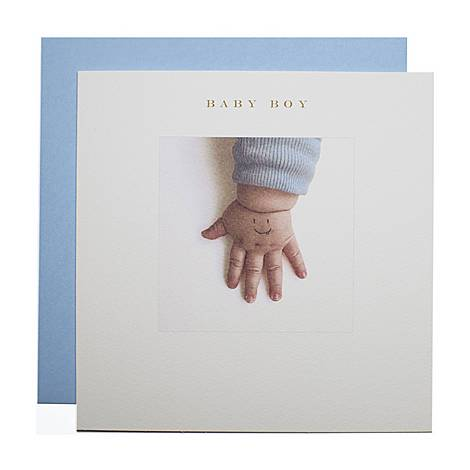 Baby Boy Card, ${color}