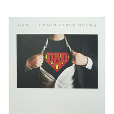 Superman Dad Card