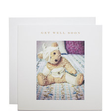Teddy Get Well Soon Card