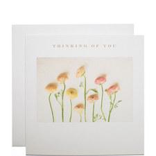 Ranunculus Sympathy Card