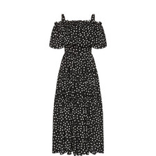 Bardot Polka Dot Dress