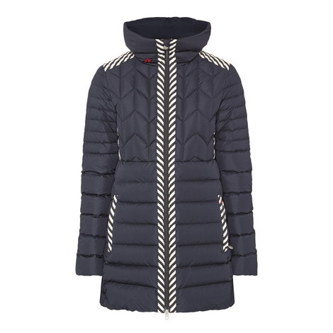 Alps Quilted Parka Coat, ${color}