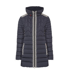 Alps Quilted Parka Coat