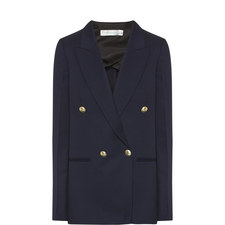 Double-Breasted Tux Blazer