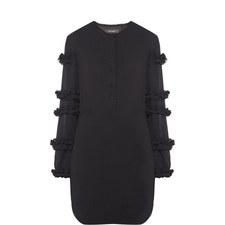 Celest Ruffle Detail Dress