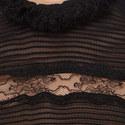 Sondra Lace Silk Blouse, ${color}