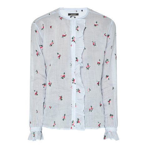 Uamos Rose Embroidered Blouse, ${color}