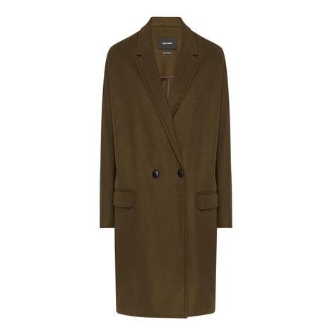 Filipa Wool-Cashmere Coat, ${color}