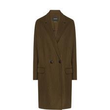 Filipa Wool-Cashmere Coat
