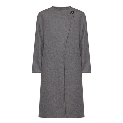 Fargo Longline Wool Mix Coat, ${color}