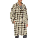 Obi Check Coat , ${color}