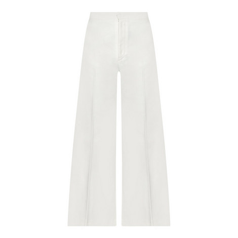 Steve Wide Fit Twill Trousers, ${color}