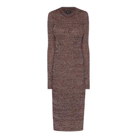 Dakota Linen Mix Sweater Dress, ${color}