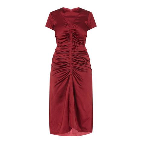 Elsa Ruched Front Dress, ${color}