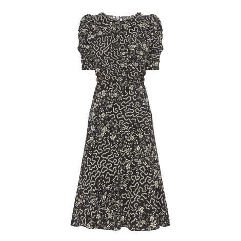 Gresham Cap Sleeve Dress, ${color}