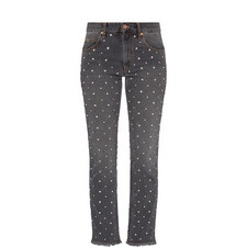 Crystal Studded Jeans
