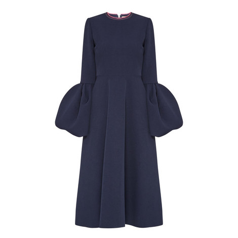 Aylin Bell Cuff Midi Dress, ${color}