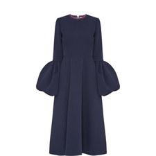 Aylin Bell Cuff Midi Dress