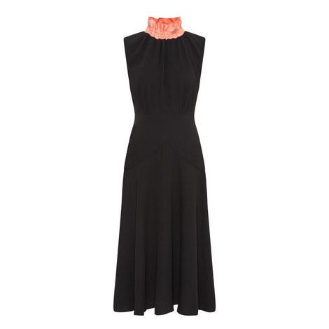 Oleyda High Neck Dress, ${color}