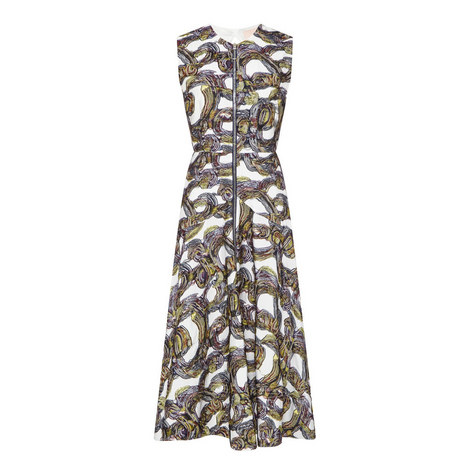 Darnia Jacquard Dress, ${color}