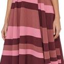Tatum Patchwork Sleeveless Dress, ${color}